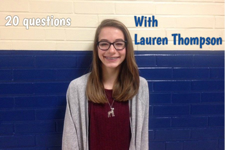 Freshman Lauren Thompson is a Disney-loving shoe fan.
