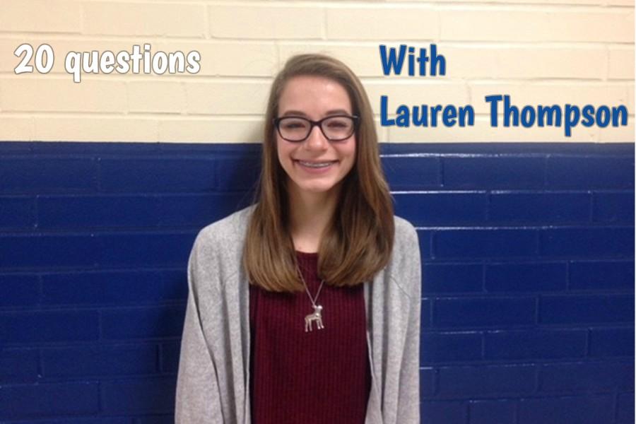 Freshman Lauren Thompson is a Disney-loving shoe fan.