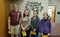Cameron McMillan, Teresa Flynn, Caylie Conlon, and Lainey Quick have been selected as the Middle Students of the Week.