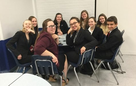 Two B-A orators place well at home speech meet