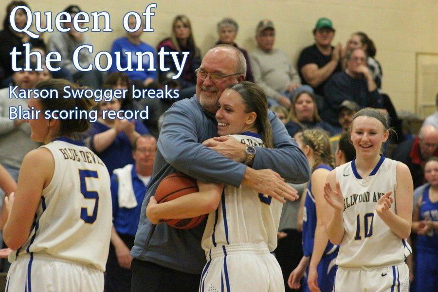 Karson Swogger is now the undisputed scoring queen of Blair County.