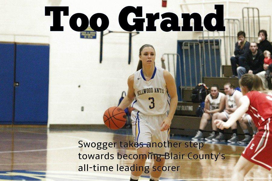 Karson Swogger went over 2,000 points and became B-A's all-time leading scorer in a week's time.