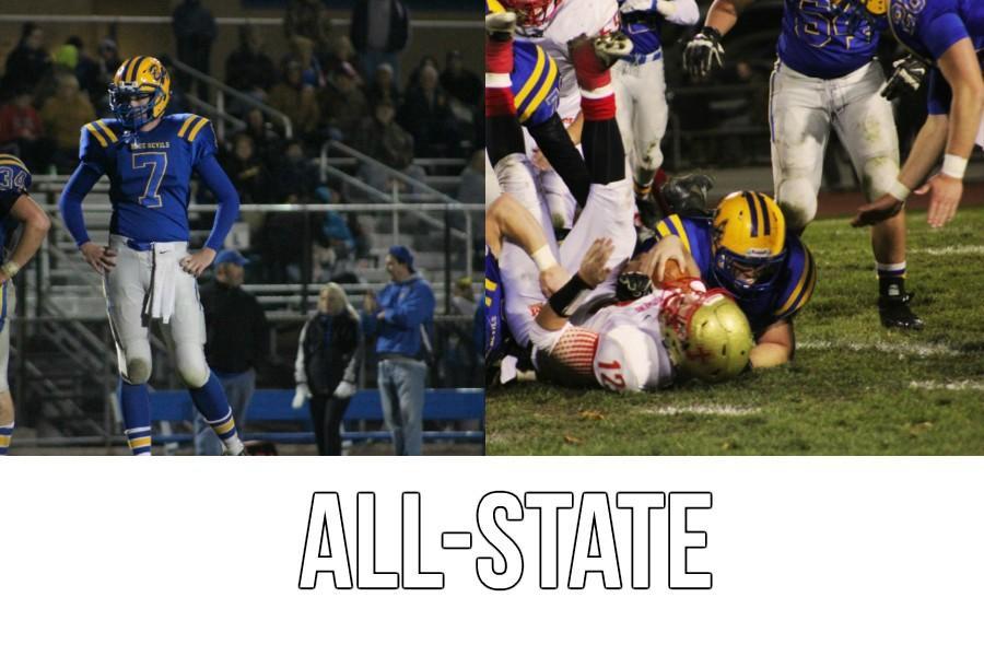 Jarrett Taneyhiill and Austin Desch made the All-State team.