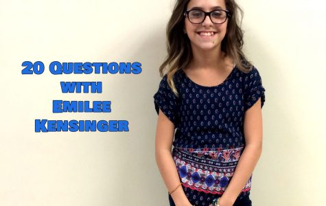 20 Questions with Emilee Kensinger