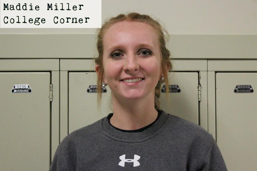 Maddie Miller is planning on going to Clarion University.