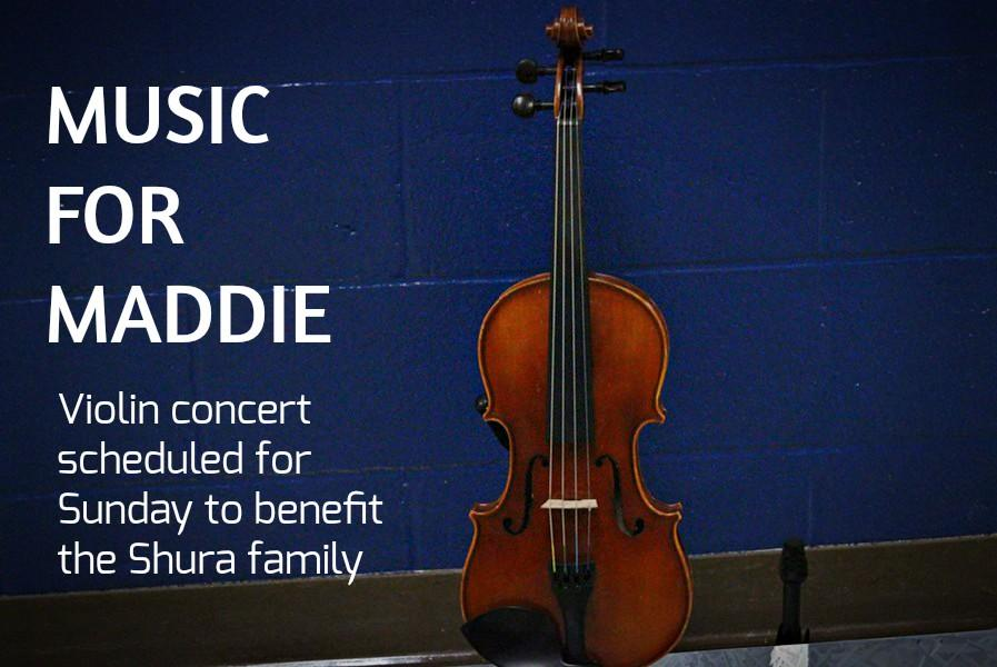 The musical duo Revamped will be playing at Belwood-Antis Sunday to benefit Maddie Shura and her family.