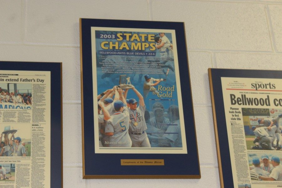 The 2003 baseball baseball team is the only team from B-A to win a state title.