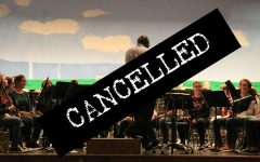 Junior High County Band was cancelled yesterday due to the dangerous weather conditions brought on by a winter storm.