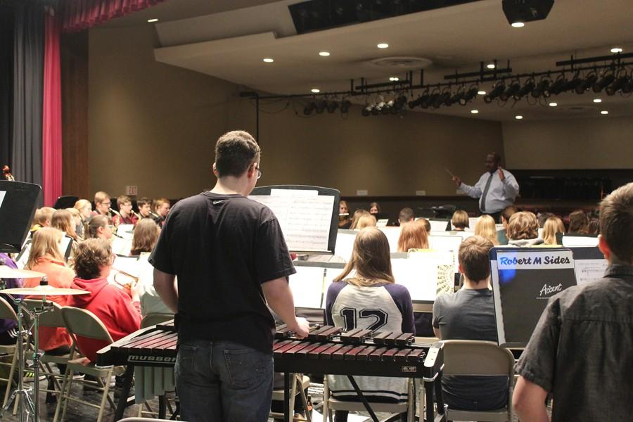 Conductor Dr. Darrin Thornton wanted to be at B-A for County Band, but realized it was the right move to cancel in light of the weather situation.
