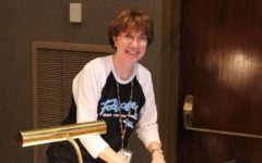 Ms. Hull is busy preparing for the spring musical, Footloose.