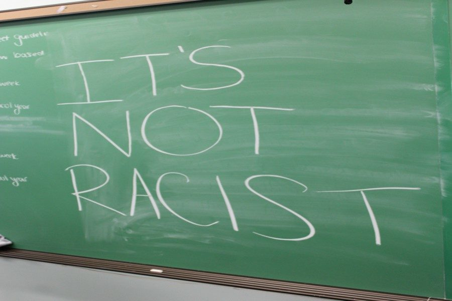 Not every comment made by a white involving an African American is racist, says author Eli Vaglica.
