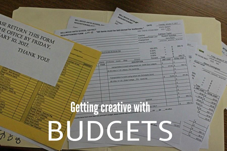 Teachers and administrators have been forced to find unique solutions for cuts in the budget.