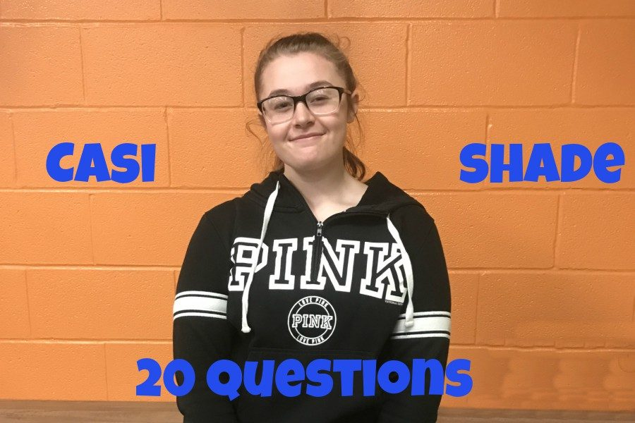 20 Questions with Casi Shade