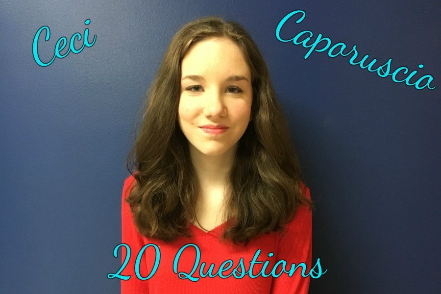 20 Questions with Ceci Caporuscio