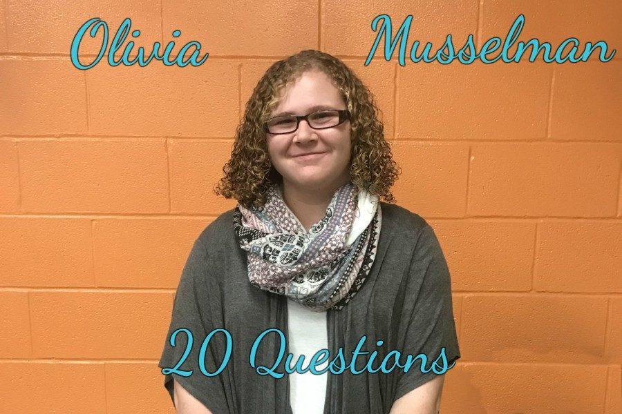 20 Questions with Olivia Musselman