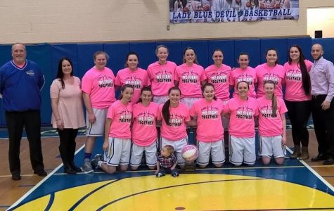 Lady Devils win Pink Game again