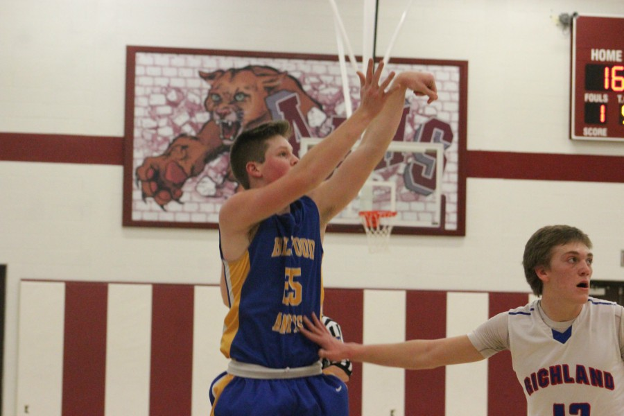 Trent Walker dropped 21 points on North Catholic but it wasn't enough as B-A made its exit from the PIAA playoffs with a 16-point loss.