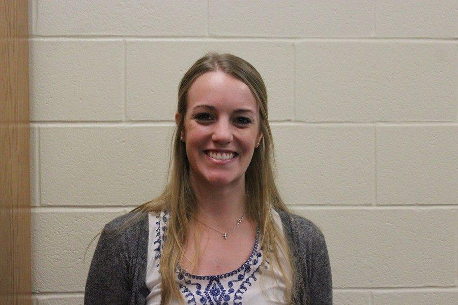 Miss Seydel is a student teacher from Penn State teaching physics with Ms. Flarend.