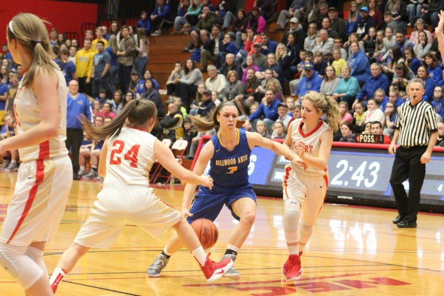 Karson Swogger and the Lady Devils get one more shot at Bishop McCort tonight in the PIAA semifinals.