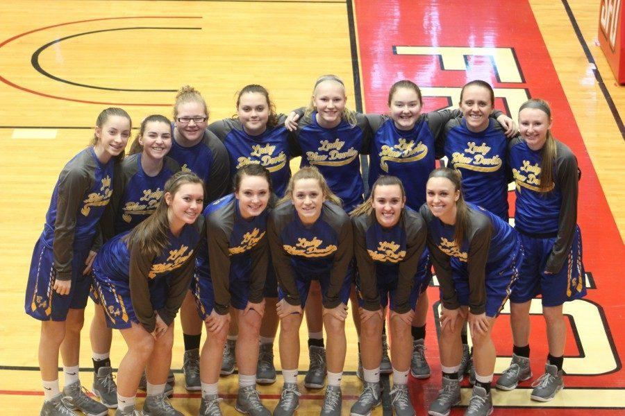 Bellwood-Antis Girls Varsity team.