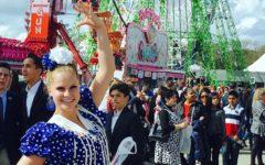 Senorita Slater, the Spanish student teacher, studied abroad and traveled to many Spanish-speaking countries.