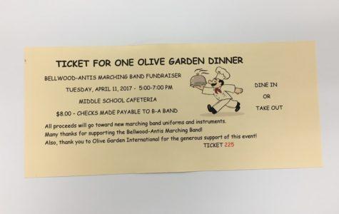Band hosting Olive Garden fundraiser