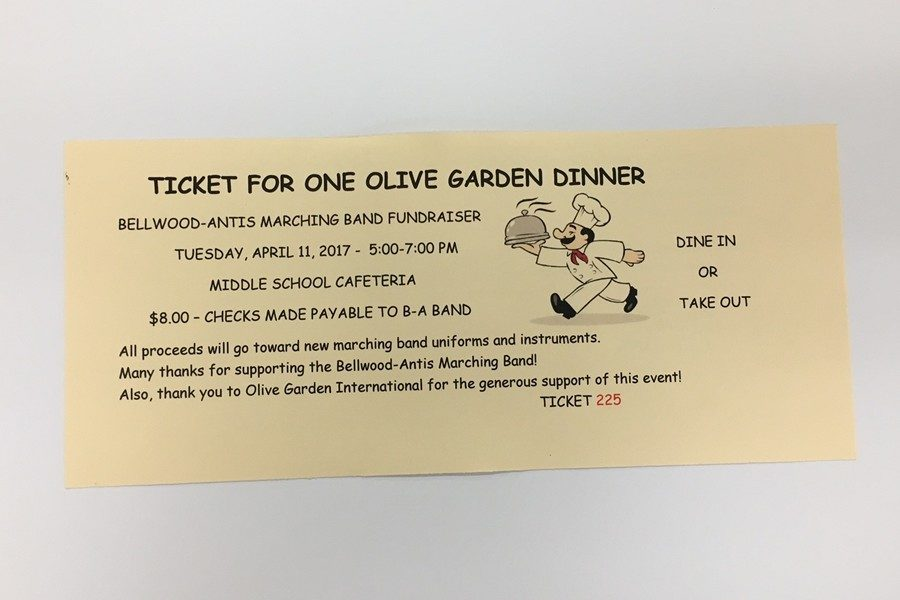 The band is holding another Olive Garden fundraiser next week.