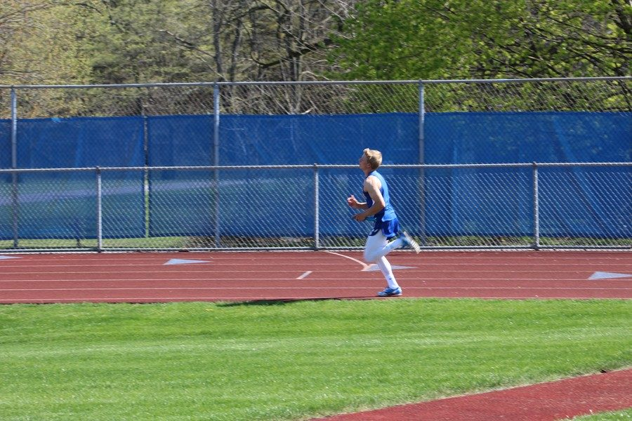 Boys track team continue rolling, girls stay going positive