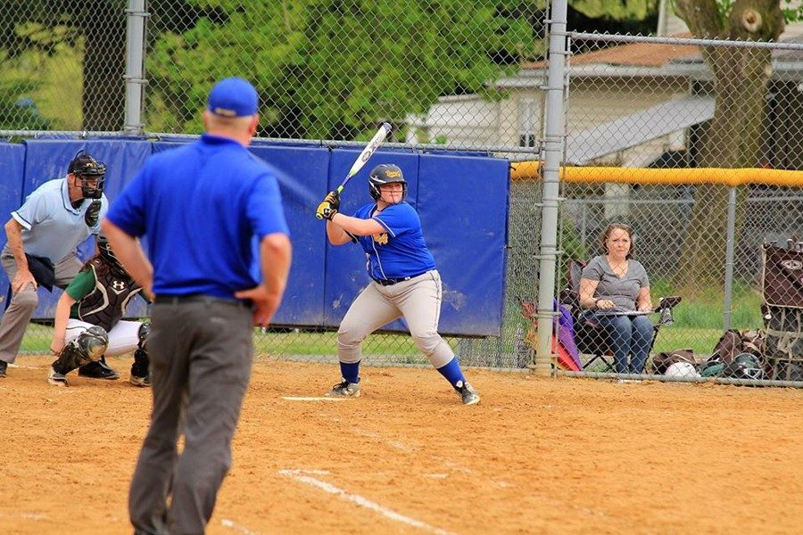 Jestelynn Heaton had two hits in a win over Moshannon Valley.