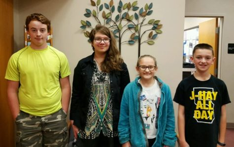 Middle School Students Of The Week
