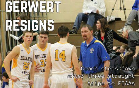 Gerwert steps down as hoops coach