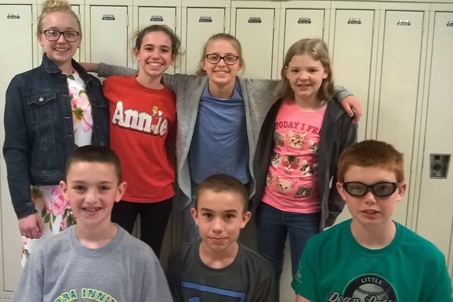 The B-A reading team did well at a recent competition. Some of the members include: Front (l to r),  Jacob Mercer, Caleb Bieswenger, and Chance Schreier Back (l to r):   Lydia Worthing, Sophia Rocco, Avery Turek, Katie Bianchini Missing from photo:  4th grade students Ryan Marinak, Holden Schreier, Derek Stivers, Emily Zacker, Briley Campbell and Rylie Andrews.