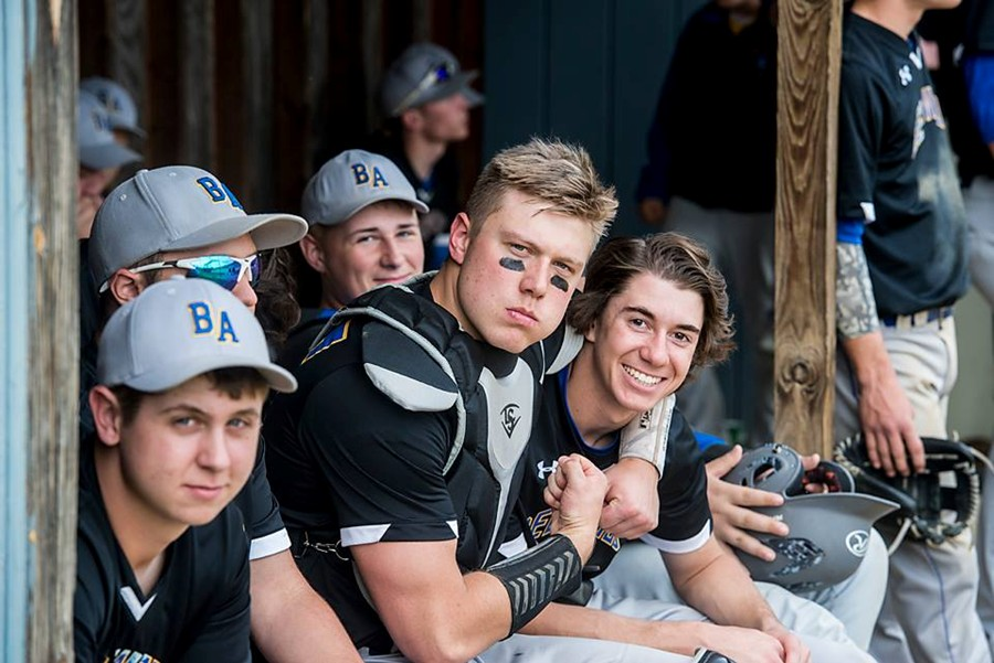 Sawyer Kline, Brandan Kowalski and the rest of the Blue Devil baseball team have been all smiles lately while enjoying a 9-game winning streak.