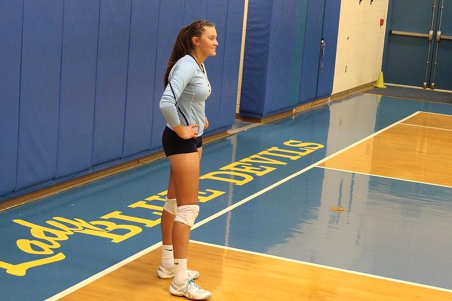 Abby+Luensmann+will+play+volleyball+next+year+at+Juniata+College