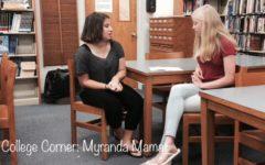 Myranda describes her college expectations.