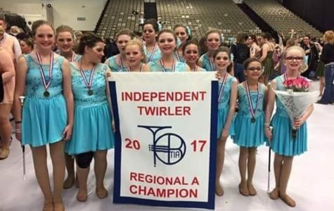 Twirling team named Atlantic Champions