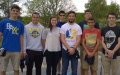 The B-A math team was represented at a tournament in Altoona by (l to r): Robert VanKirk, Braden Heisler, Abby Luensmann, Zion Poe, Jarryd Kissell, Nathan Wolfe, Dan Kustenborder, and Ben Martin.