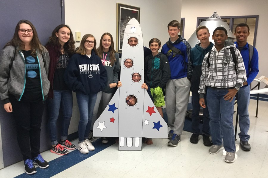 Middle school students enjoyed a special science-related field trip last week.