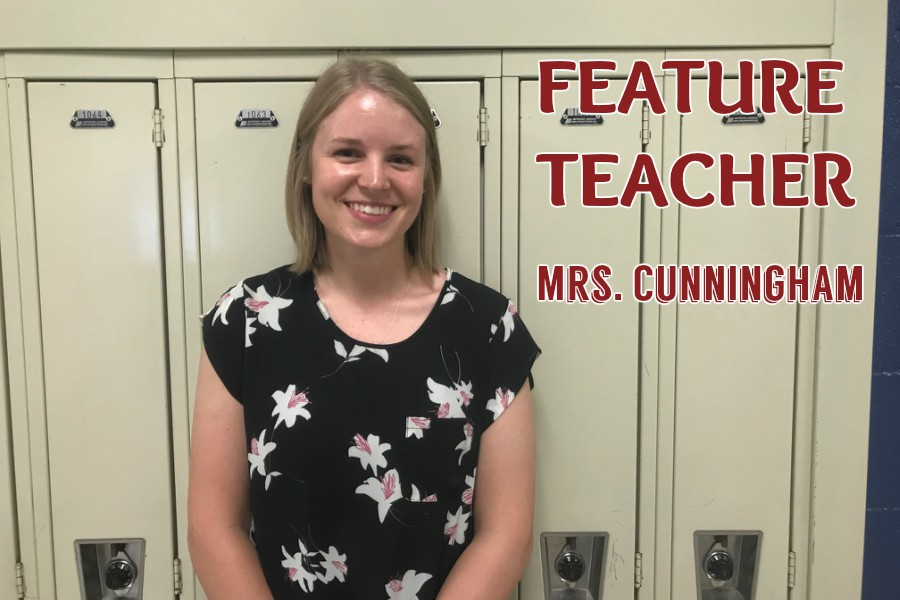 Mrs. Cunningham comes from a long line of successful teachers at B-A.