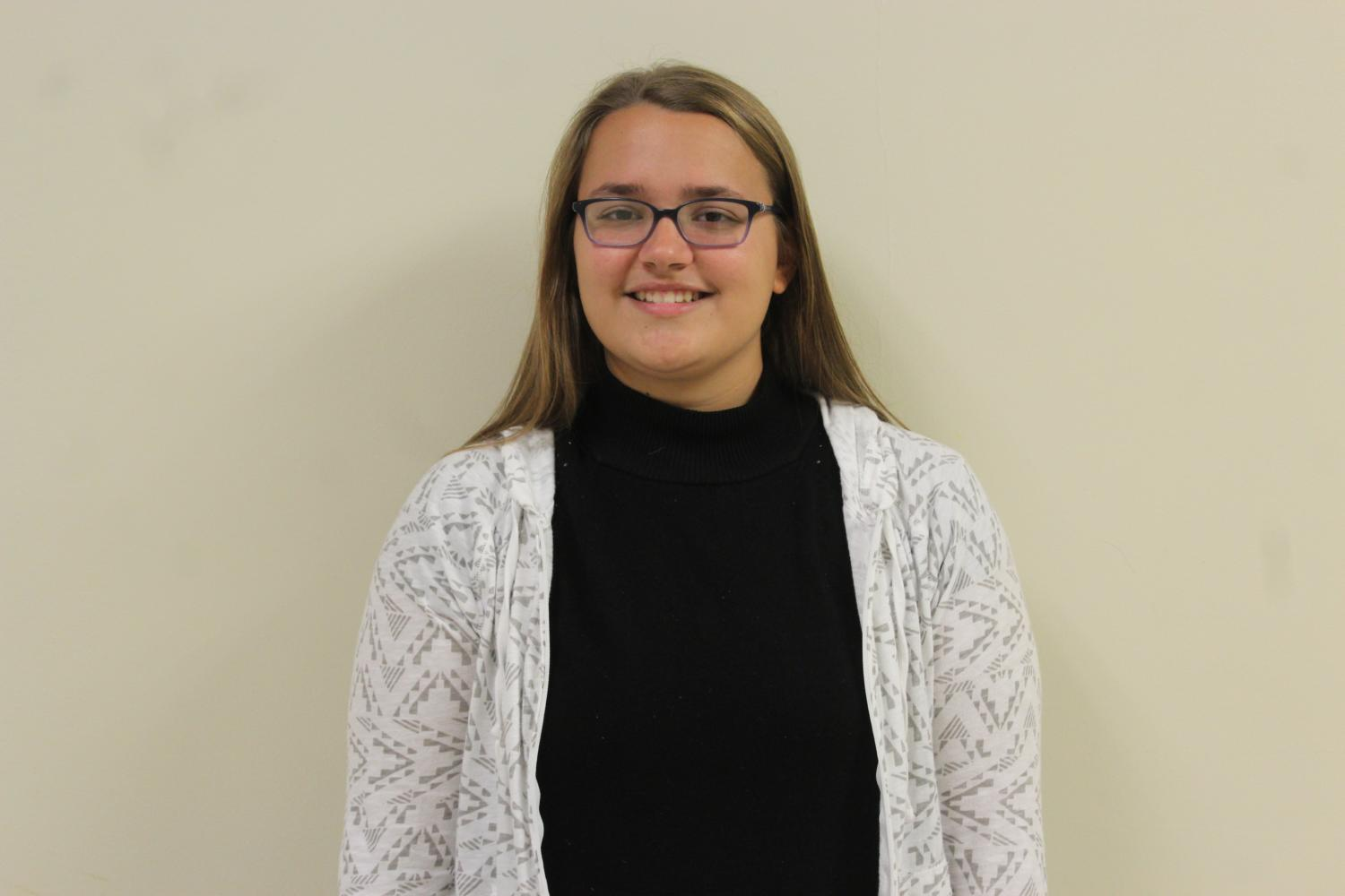 Cynthia Baldwin is sophomore who is involved in many different activities and clubs.