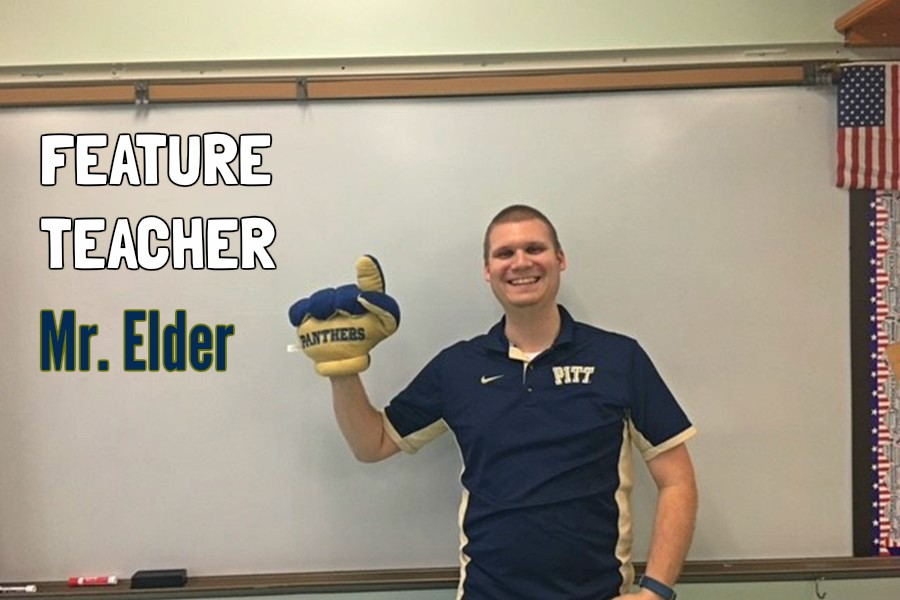 Mr. Elder has taught a variety of subjects, but he has always loved history the most.