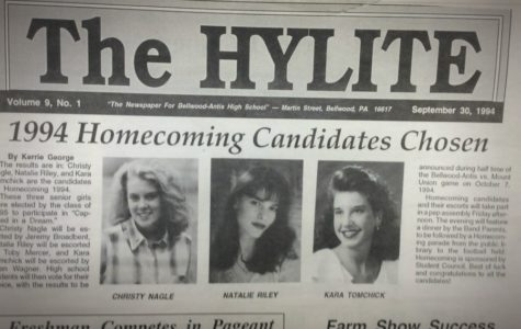 Homecoming was a little different in 1994, but the three candidates were just as anxious as the court this year.