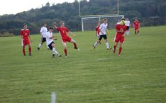 Corey Johnston had Tyrone's only goal in a win over Bellefonte.