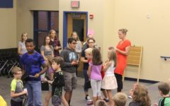 PHOTO STORY: BA reads to 2nd graders