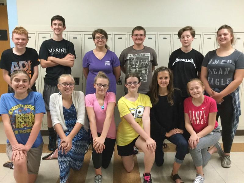 The B-A junior high speech team had a big day in its first meet.