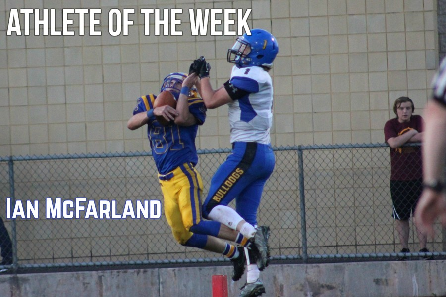 Ian+McFarland+had+a+breakout+game+against+Claysburg+on+Friday.