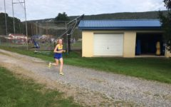 B-A junior Jenna bartlett won again yesterday, but the Lady Devils fell in cross country action.