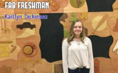 FAB FRESHMAN: Kaitlyn Dickinson
