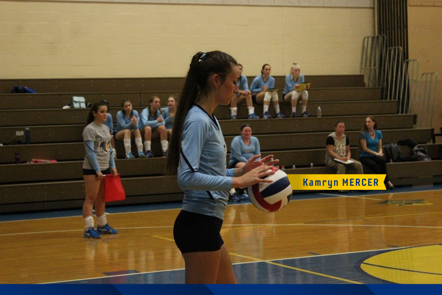 Kamryn+Mercer+Prepares+to+Serve+the+Ball+against+Juniata+Valley.+%28Julie+Norris%29