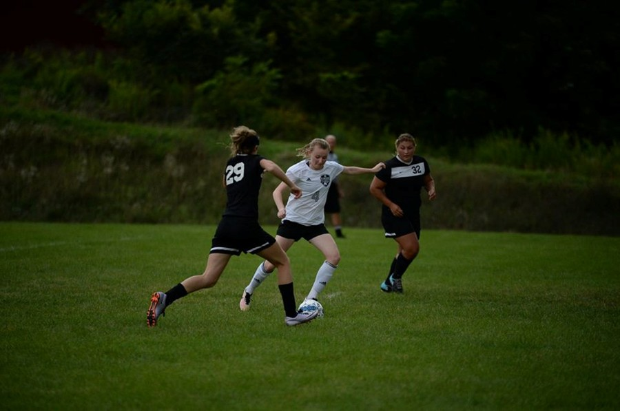 Riley DAngelo scored a goal against Central but it wasnt enough to secure the win.